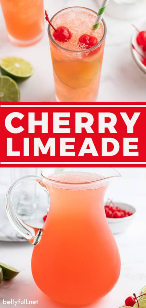 pin for cherry limeade recipe