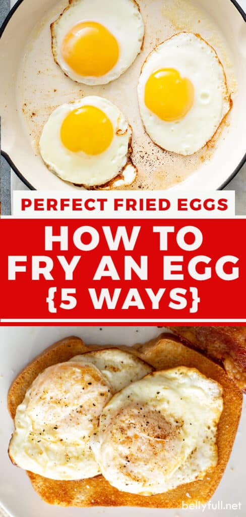 pin for perfect fried eggs