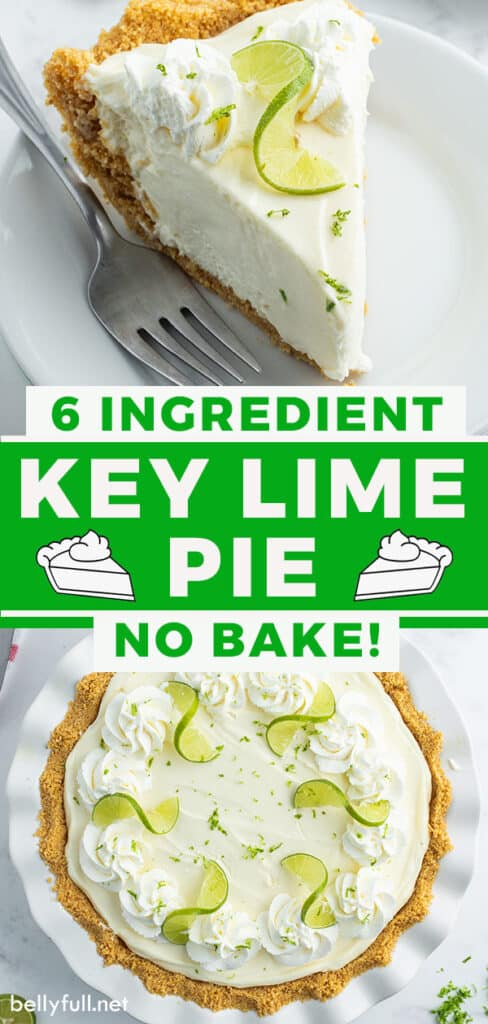 pin for key lime pie recipe