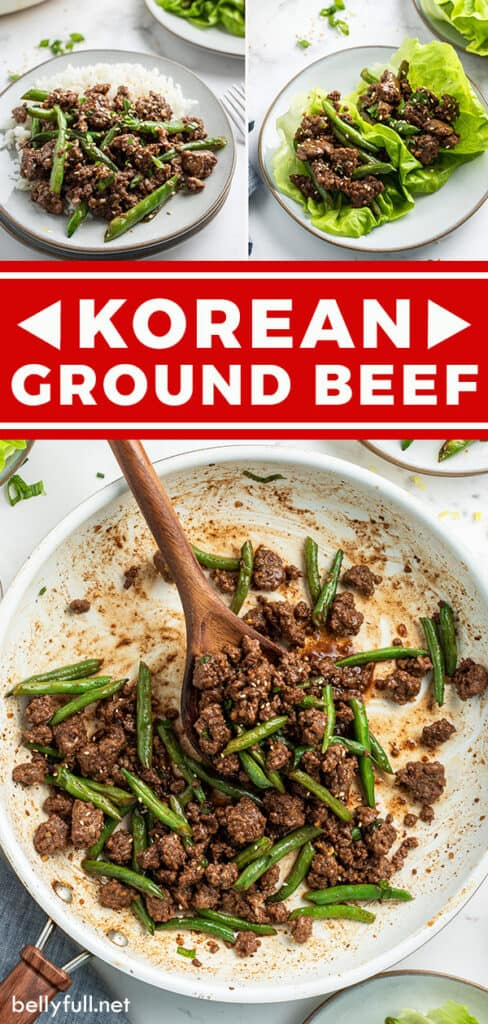 pin for Korean Ground Beef