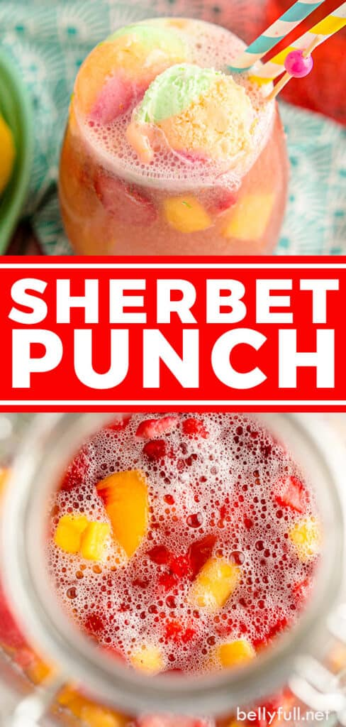 pin for sherbet punch recipe