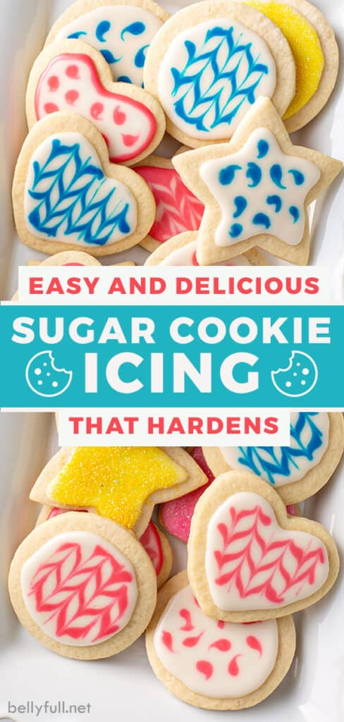 pin for sugar cookie icing