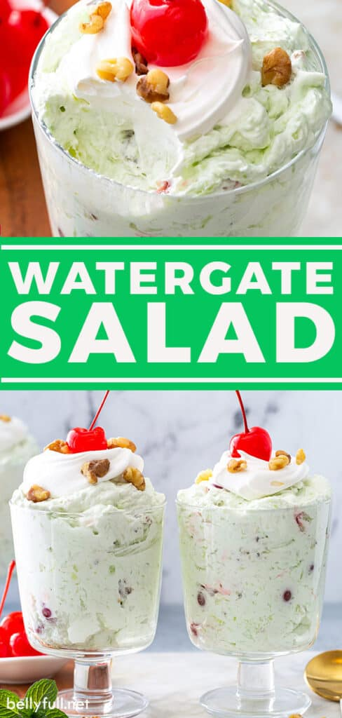 pin for Watergate Salad recipe