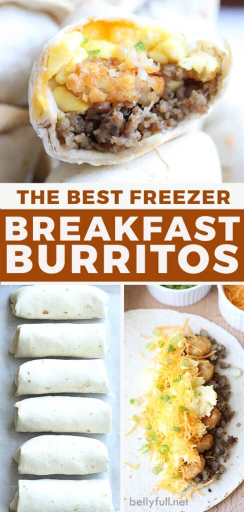pin for breakfast burrito recipe