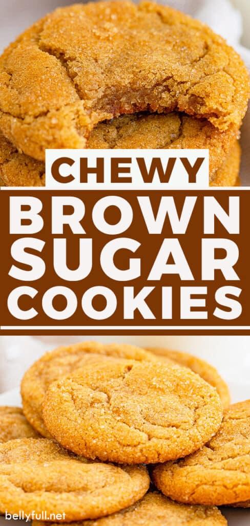 pin for brown sugar cookies recipe