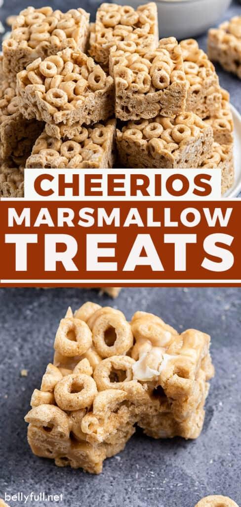 pin for Cheerios Marshmallow Treats