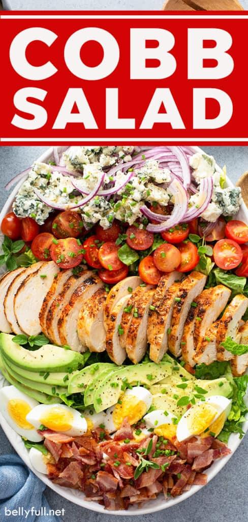 pin for Cobb salad recipe
