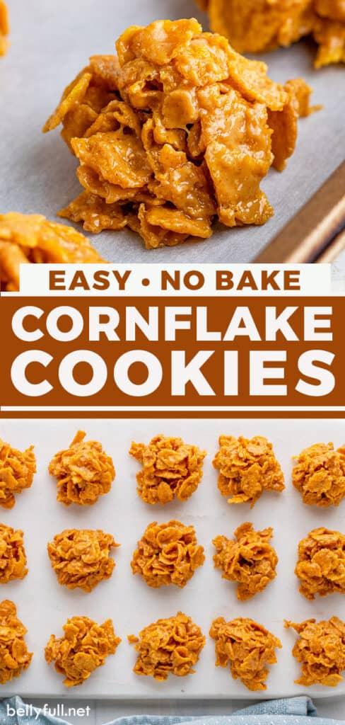 pin for cornflake cookies recipe