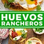 pin for Huevos Rancheros recipe