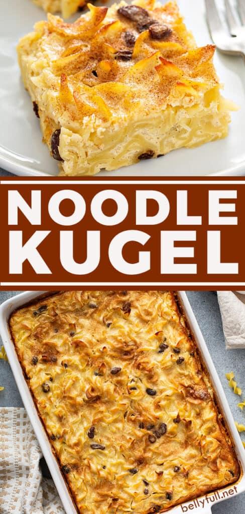 pin for Noodle Kugel recipe