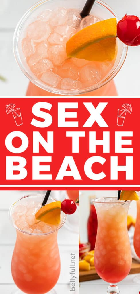 pin for sex on the beach drink recipe