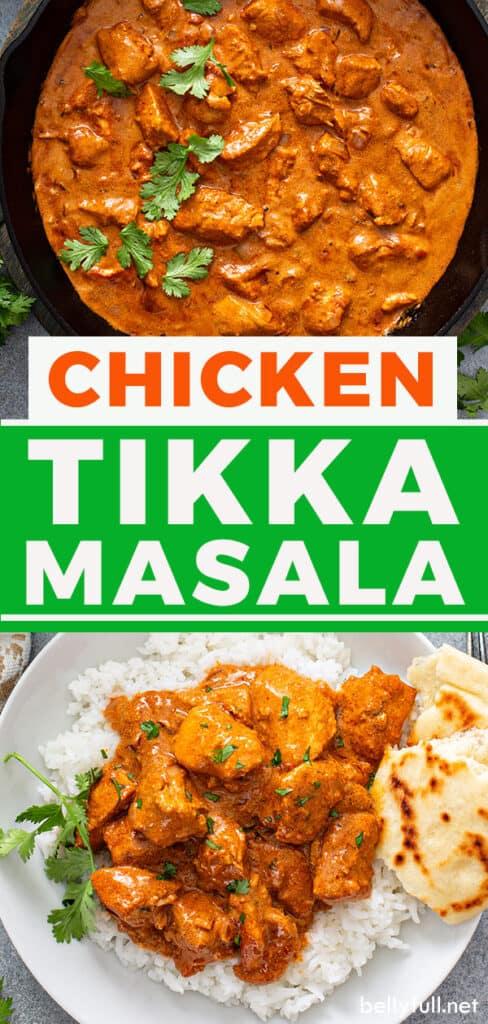 pin for chicken tikka masala recipe
