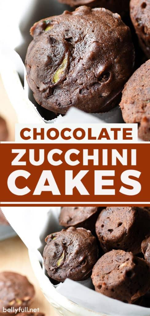 mini chocolate zucchini cake recipe