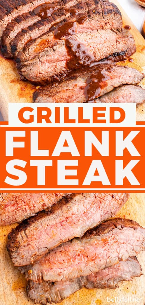pin for marinated grilled flank steak recipe