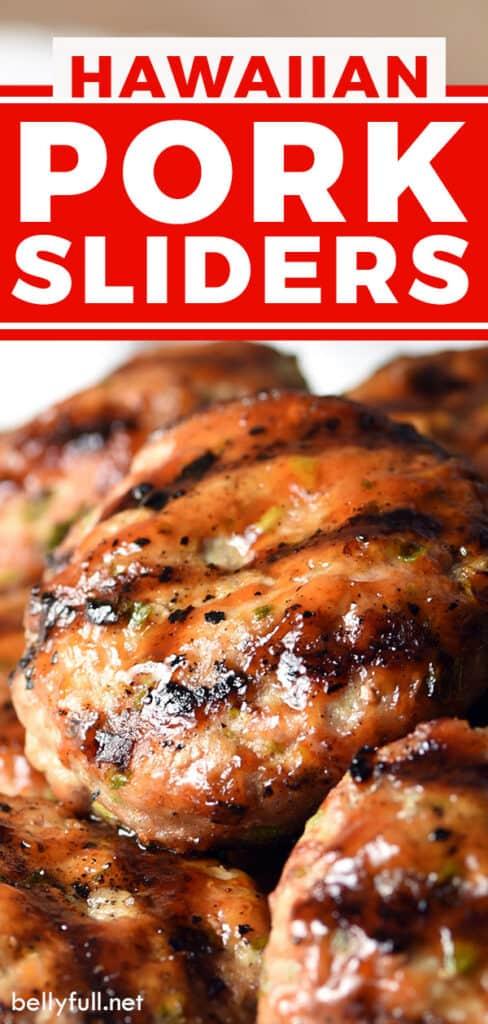 pin for Pork Sliders recipe