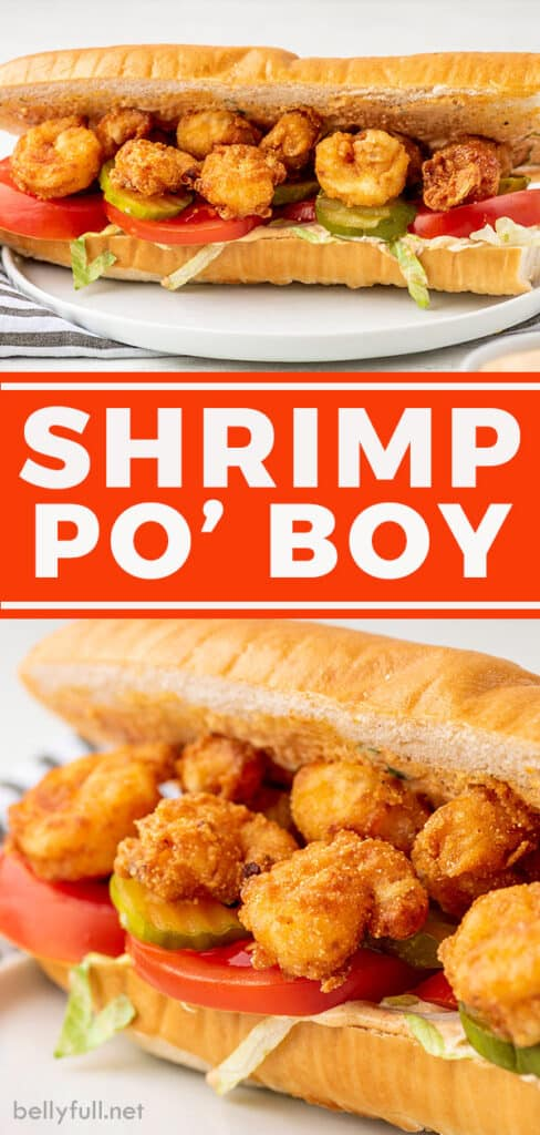 pin for shrimp po boy recipe