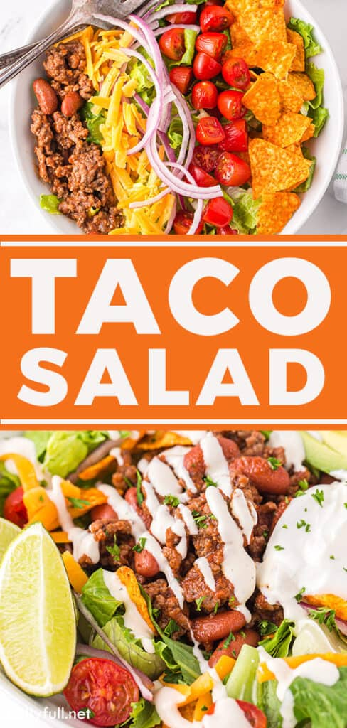 pin for Taco Salad recipe