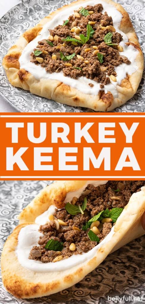 Pin for turkey keema recipe
