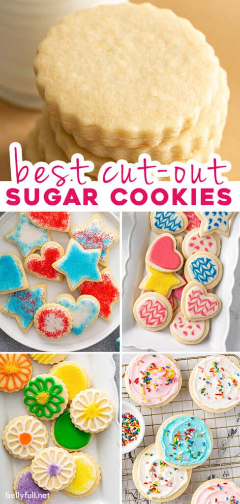 pin for cut out sugar cookie recipe
