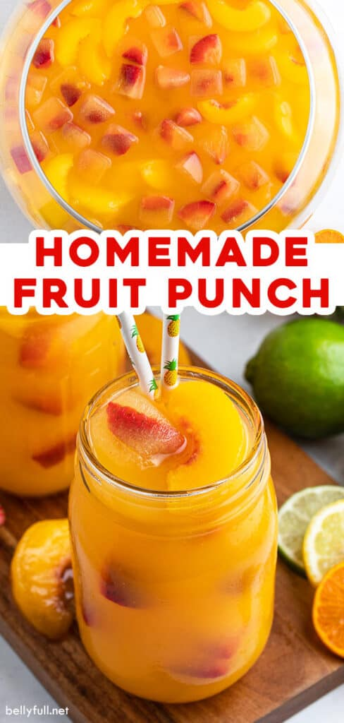 Pin for Fruit Punch Recipe