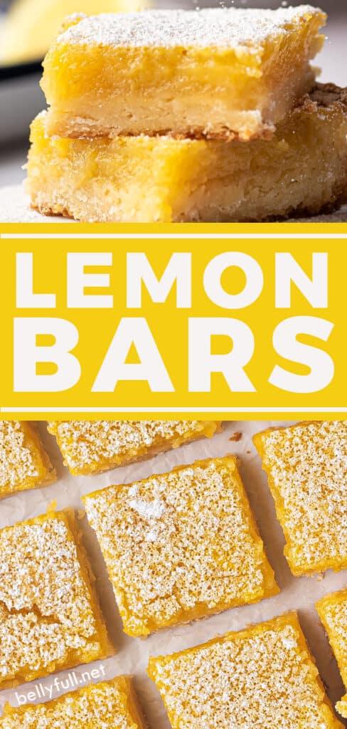 pin for lemon bars recipe