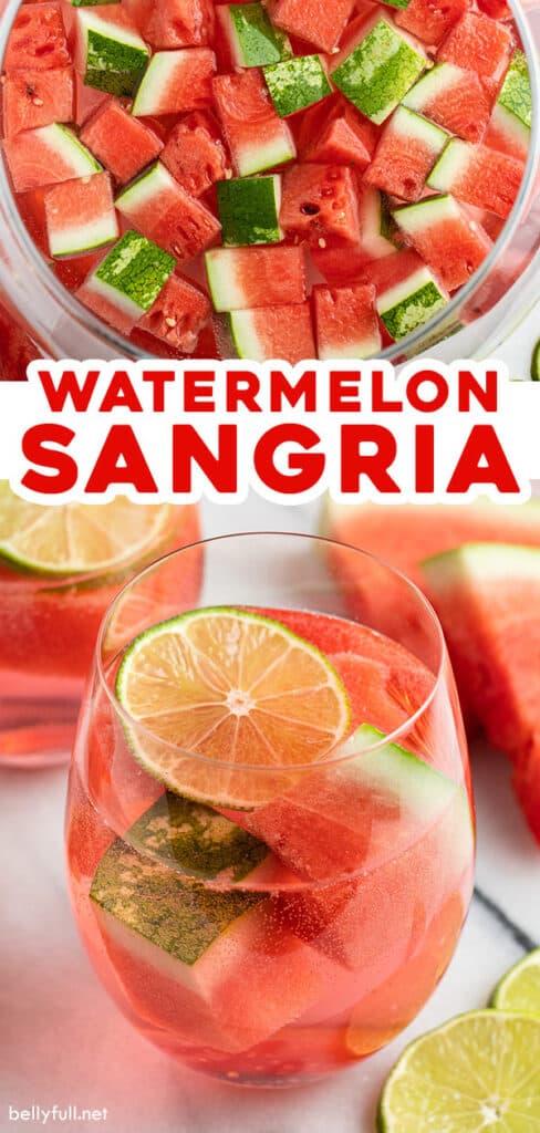pin for watermelon sangria recipe