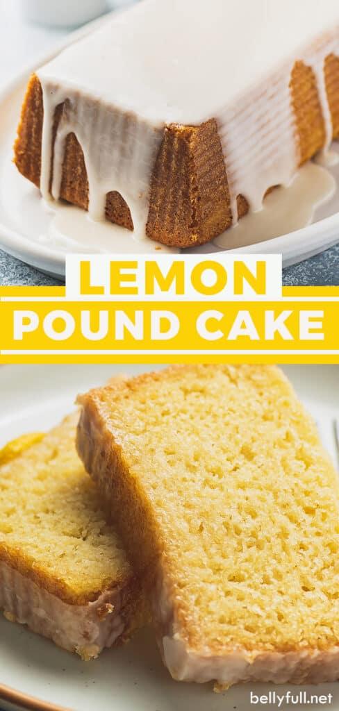 pin for lemon pound cake recipe