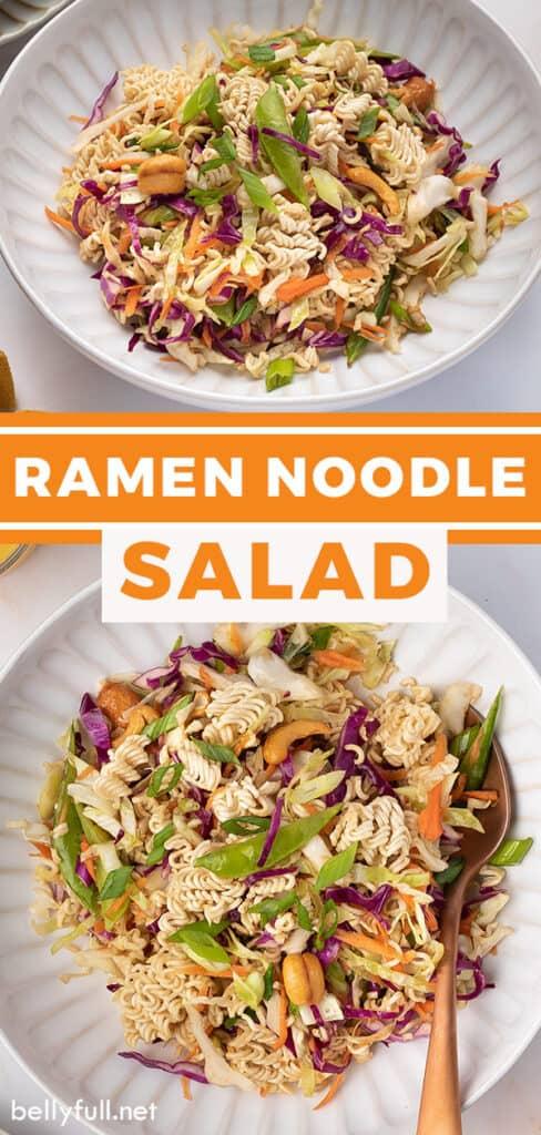 pin for ramen noodle salad recipe