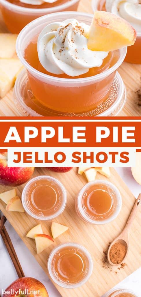 pin for apple pie jello shots recipe