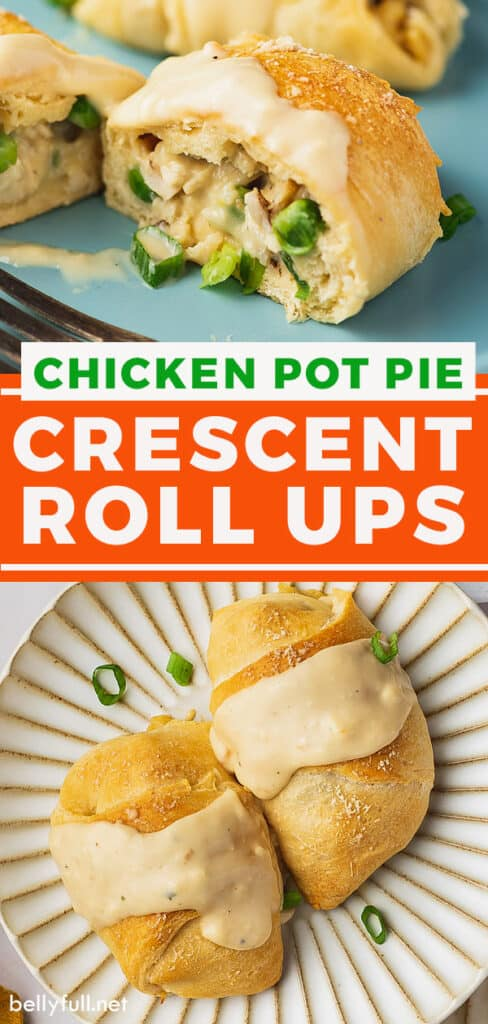 pin for chicken crescent roll ups recipe