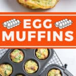 pin for egg muffins recipe