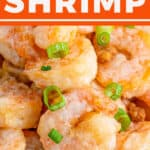 pin for honey walnut shrimp recipe