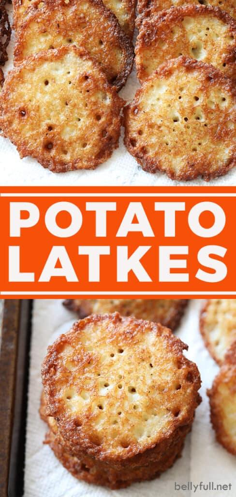 pin for potato latke recipe