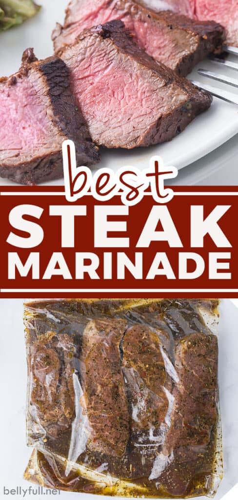 pin for steak marinade recipe