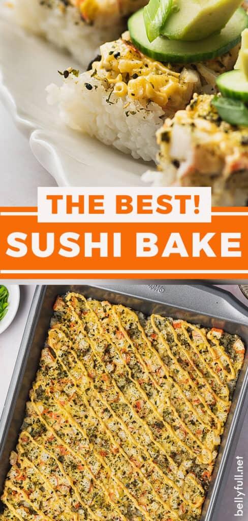 pin for sushi bake recipe