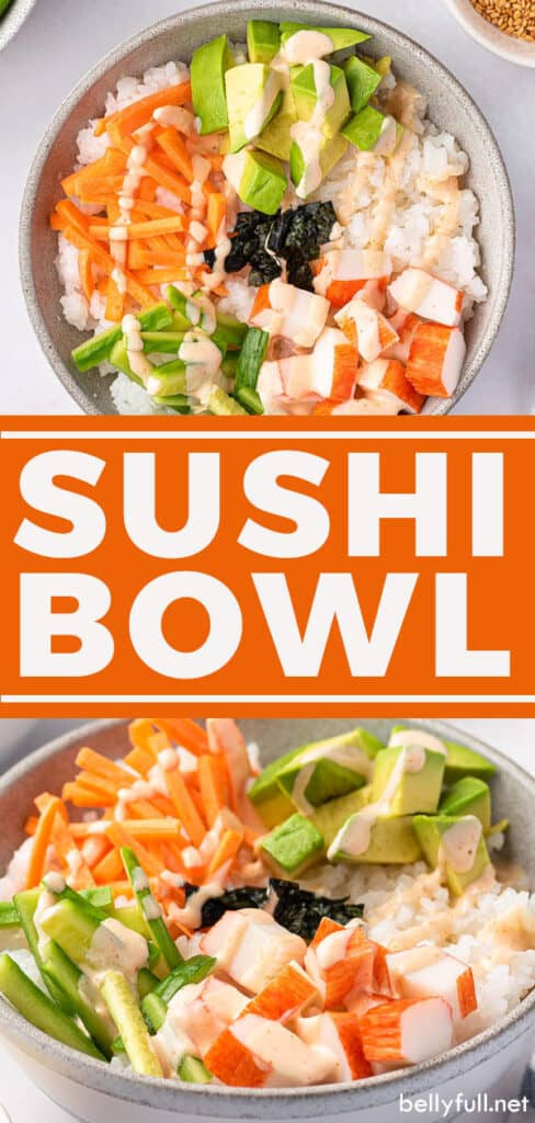 2 picture pin for sushi bowl recipe