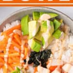 1 picture pin for sushi bowl recipe