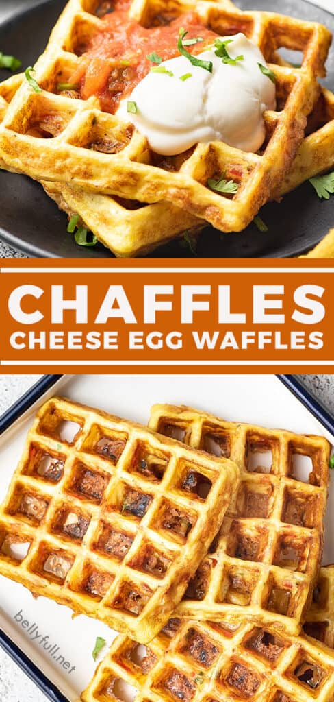 pin for chaffles recipe